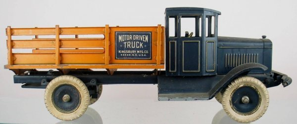 7X: Early Toy Truck, Kingsbury Mfg.