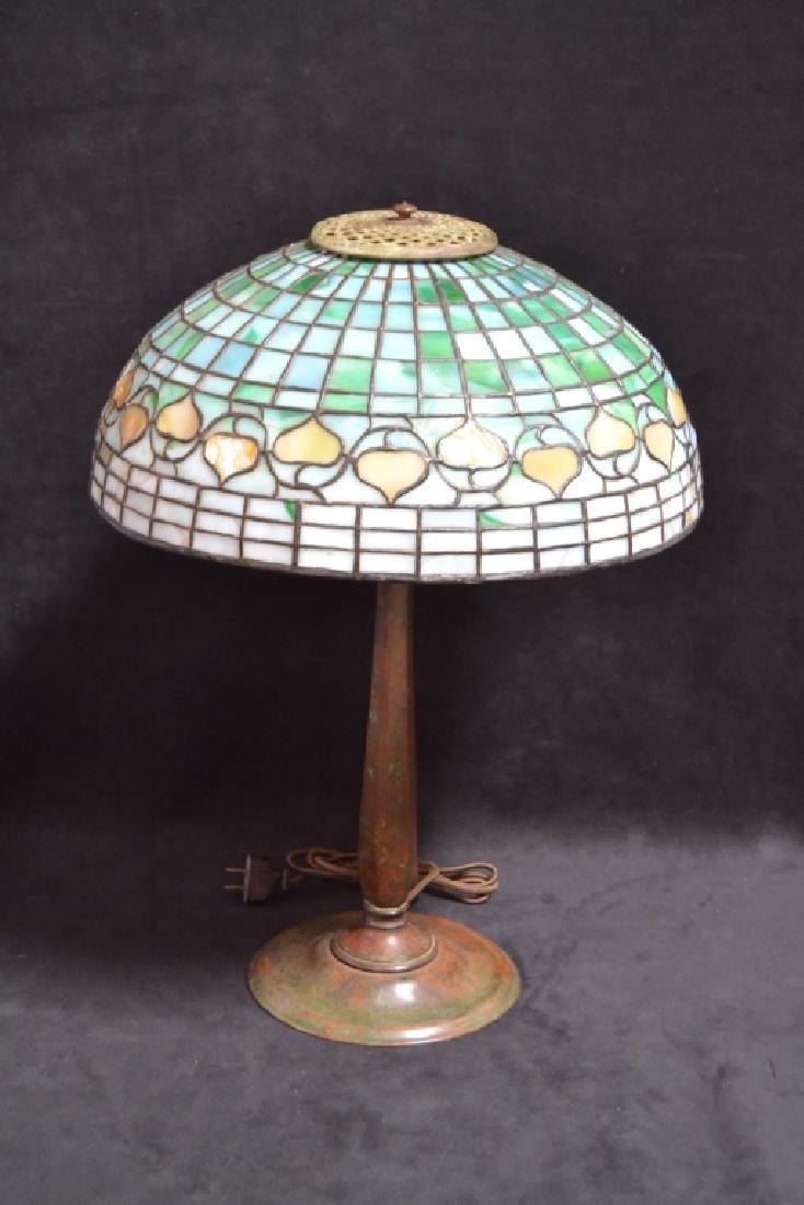 TIFFANY STUDIOS NO. 534 ACORN SHADE TABLE LAMP