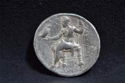 320 B.C ALEXANDER THE GREAT COIN