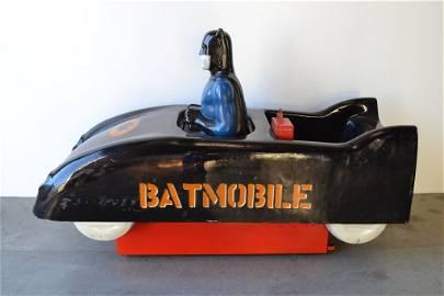 1960'S BATMAN BATMOBILE 25 CENT COIN OPERATED RIDE