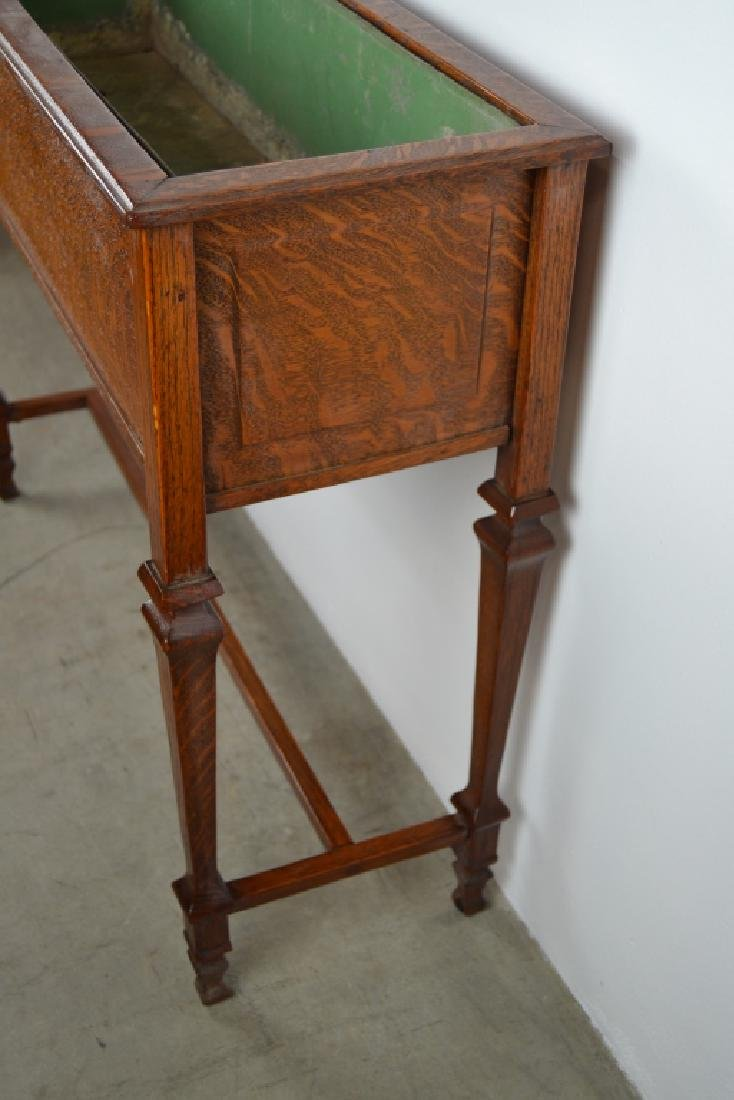 1910'S AMERICAN OAK PLANT STAND - 3