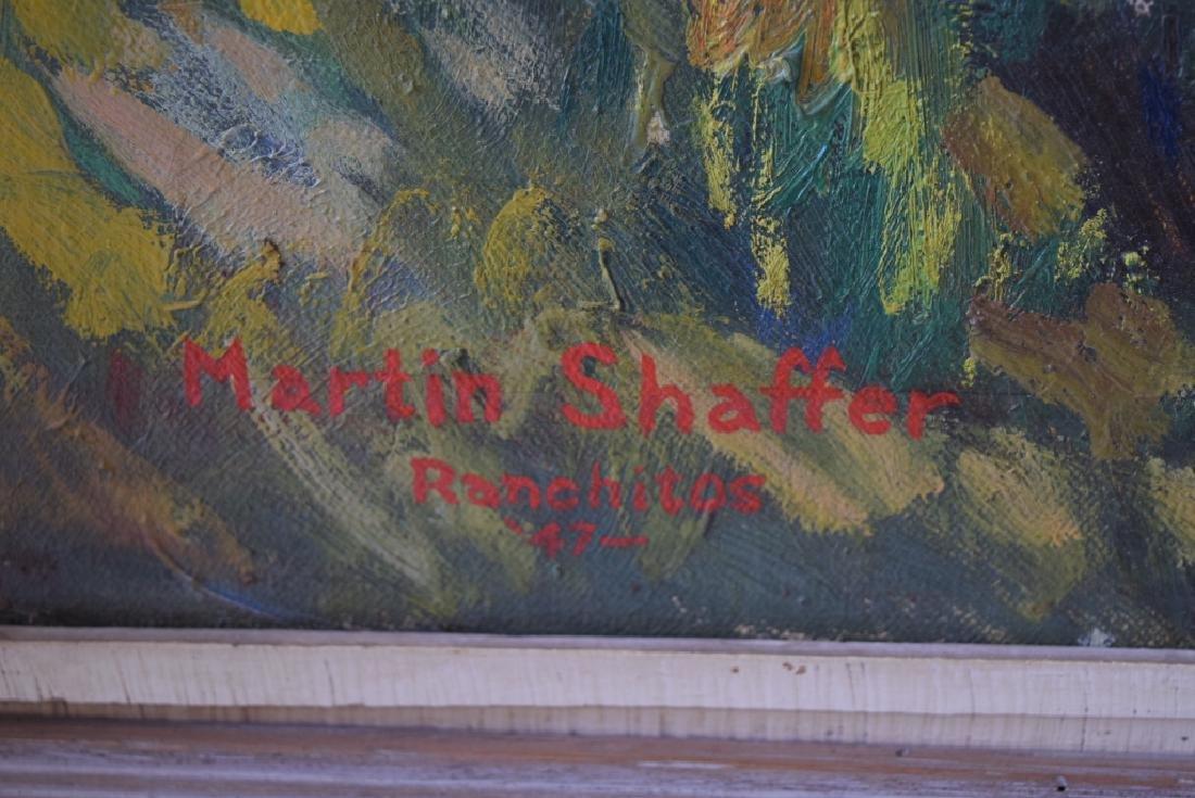 MARTIN SHAFFER O/C TAOS NEW MEXICO ADOBE - 2