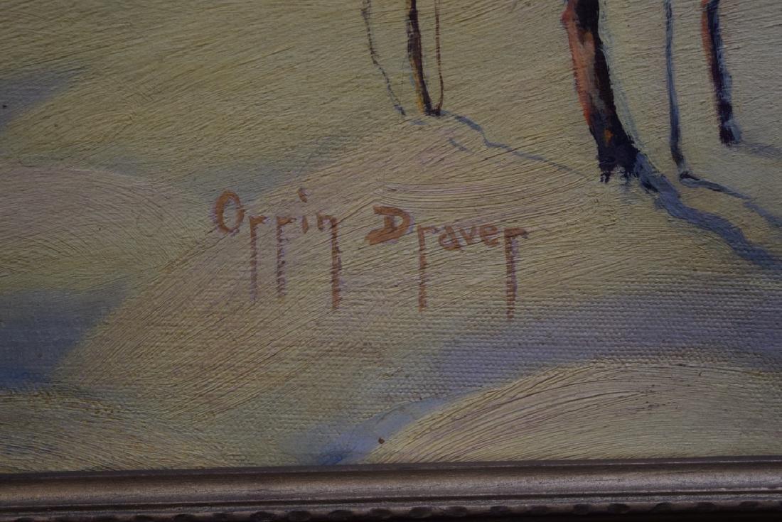 ORRIN DRAVER O/C WINTER SCENE - 2