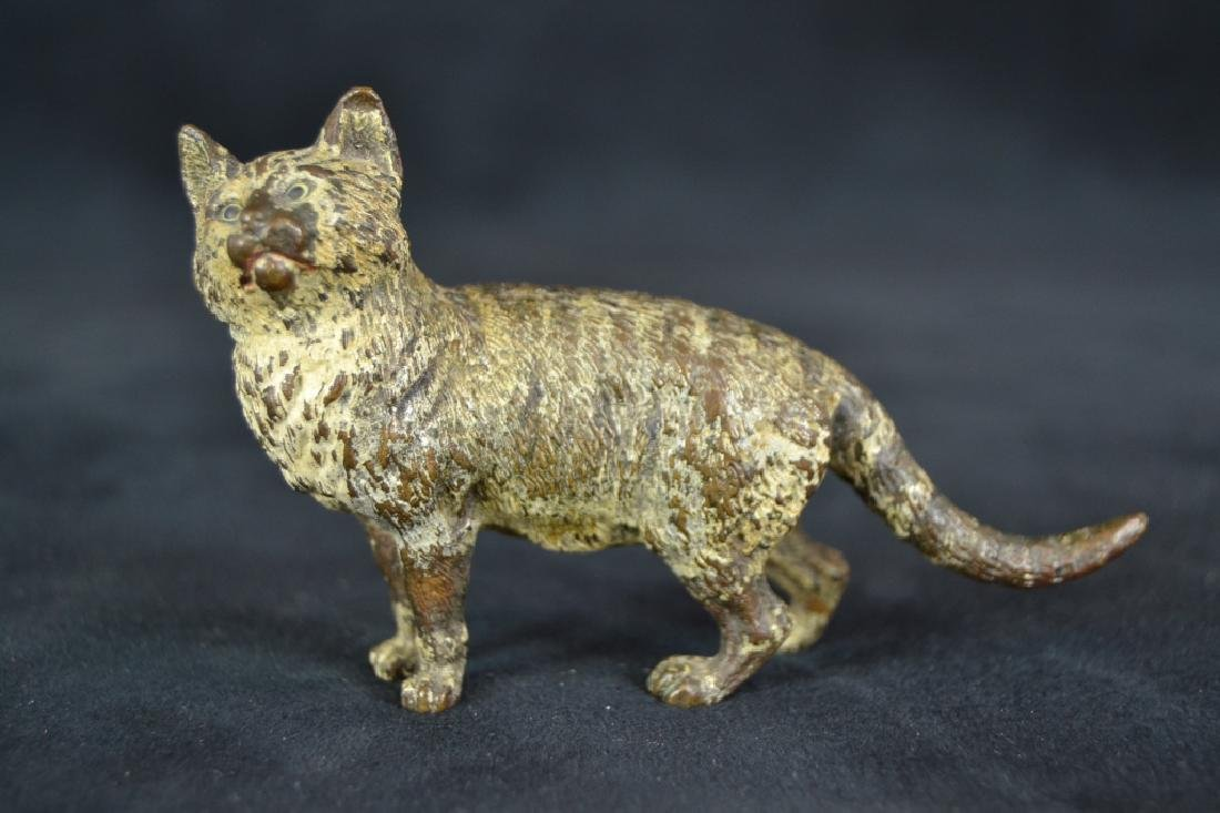 3 AUSTRIAN COLD PAINTED ANIMAL BRONZES - 4