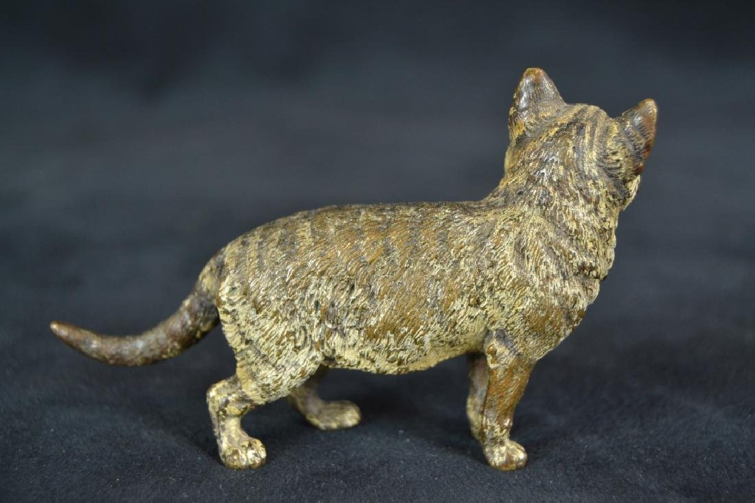 3 AUSTRIAN COLD PAINTED ANIMAL BRONZES - 5