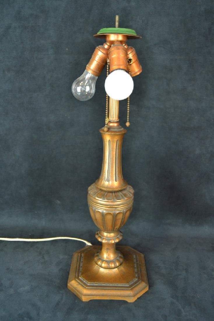 PAIRPOINT REVERSE PAINTED TABLE LAMP - 5