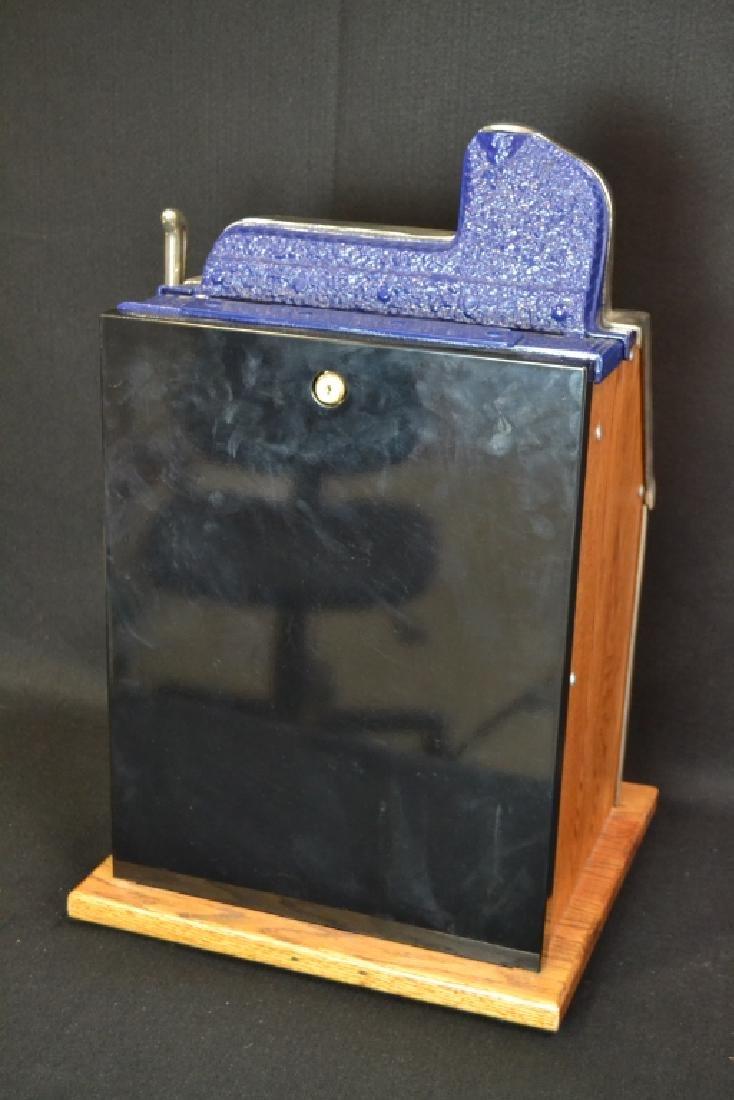 MILLS 5 CENT CASTLE FRONT SLOT MACHINE - 3