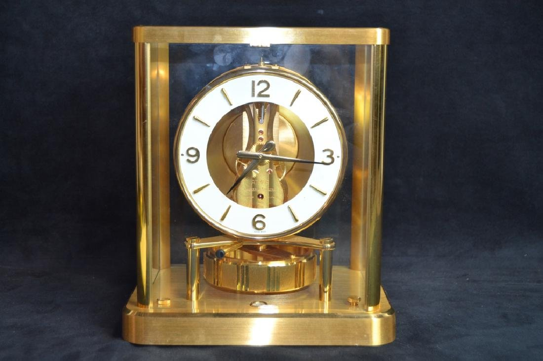 JAEGER LE COULTRE ATMOS PERPETUAL MOTION CLOCK