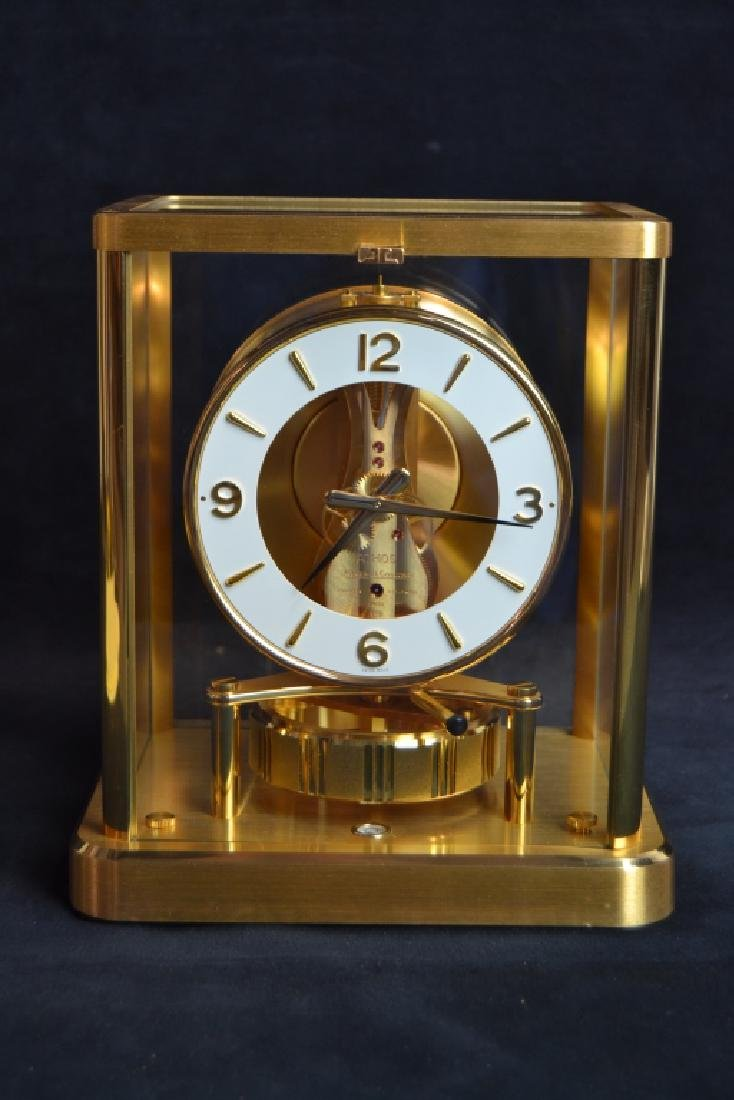 JAEGER LE COULTRE ATMOS PERPETUAL MOTION CLOCK - 2