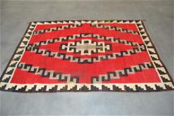 NATIVE AMERICAN NAVAJO INDIAN RUG OR BLANKET