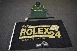 LOT OF 4 ROLEX SPORTS RELATED ITEMS