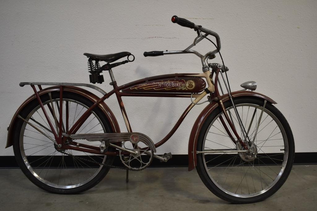 1930'S SCHWINN LIBERTY MOTORBIKE BOY'S BICYCLE