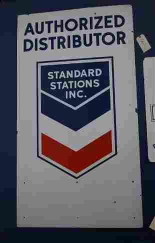 Standard Station Inc. Distributor Sign (TAC)