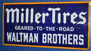 Miller Tires Geared-To-The-Road Sign (TAC)