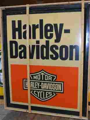 Large Harley-Davidson Plastic Sign Insert