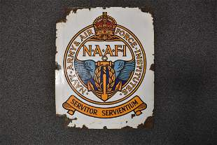 NAVY, ARMY, AIR FORCE INSTITUTE SIGN (ASIS)