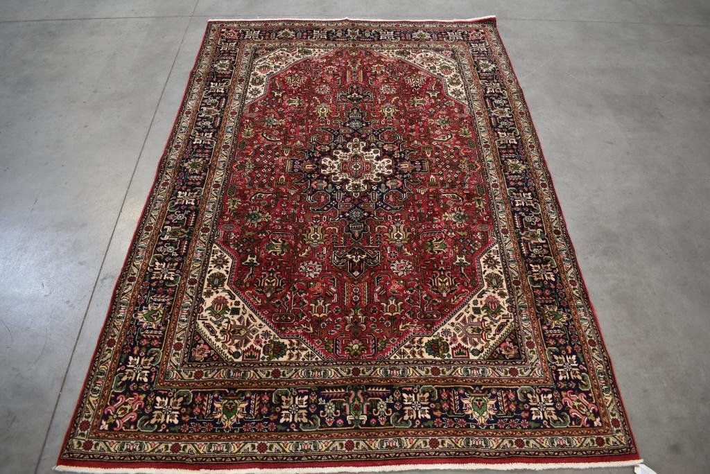 """APPROX. 9'9"""" X 6'6"""" HANDMADE PERSIAN STYLE RUG"""
