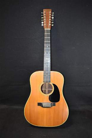 MARTIN D-12-28 (310615) EARLY 70s 12 STRING GUITAR