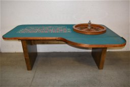TAYLOR & CO. CHICAGO ROULETTE TABLE