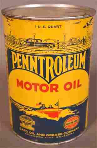 Penntroleum Motor Oil Quart Can