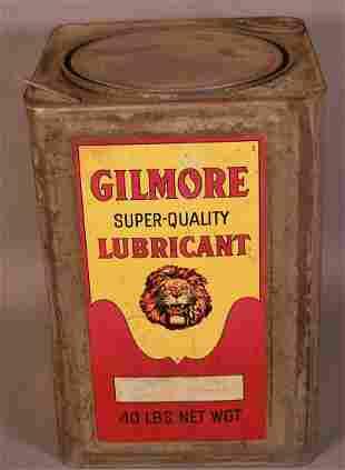 Gilmore 40lb. Square Metal Can