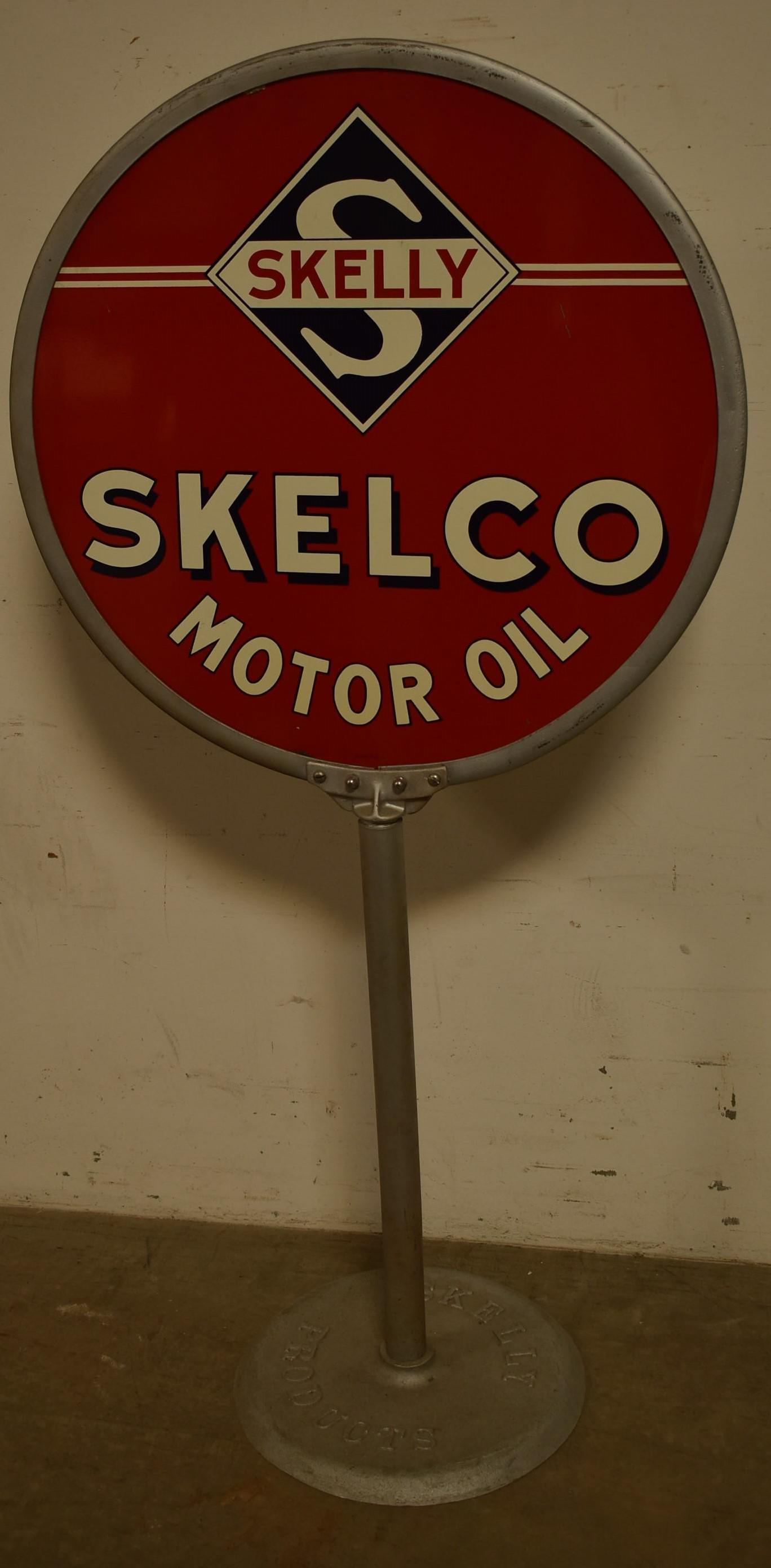 Skelly Tagolene Motor Oil Sign C346