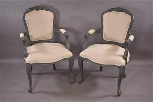 PR. MODERN FRENCH STYLE  ARM CHAIRS