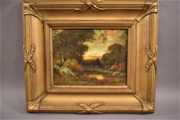 ALEXIS M PODCHERNIKOFF WOODED LANSCAPE O/C