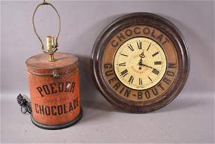 2 EARLY CHOCOLATE ADVERTISING PIECES