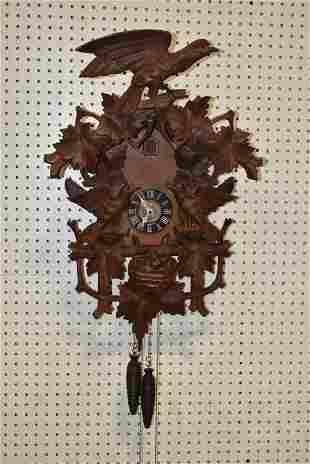 LARGE GERMAN CUCKOO CLOCK