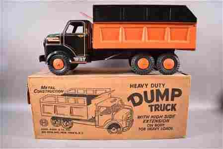MARX HEAVY DUTY DUMP TRUCK W/ BOX