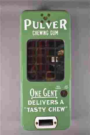 Pulver Chewing Gum Porcelain Coin-op Machine