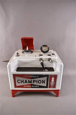 Restored Champion Spark Plug Cleaner