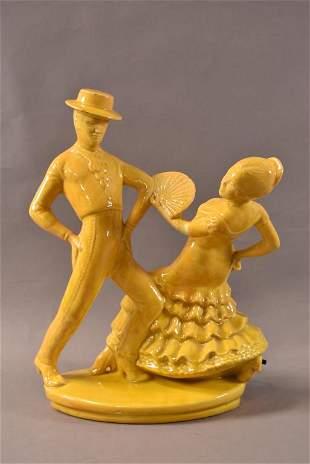 FLAMENCO DANCERS TV LAMP