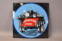 SSP JORGENSON STEEL SIGN W/ TRUCK GRAPHICS