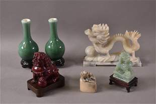 SMALL CHINESE TABLE ITEMS