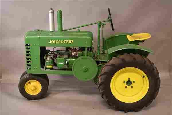 JOHN DEERE 1/2 SCALE MODEL TRACTOR