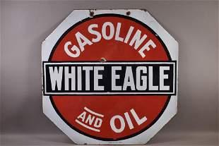 WHITE EAGLE GASOLINE & OIL DSP SIGN