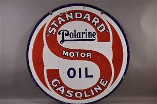 POLARINE STANDARD GASOLINE DSP SIGN