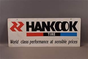 HANKOOK TIRE PLASTIC SIGN