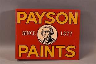 PAYSON PAINT DST FLANGE SIGN