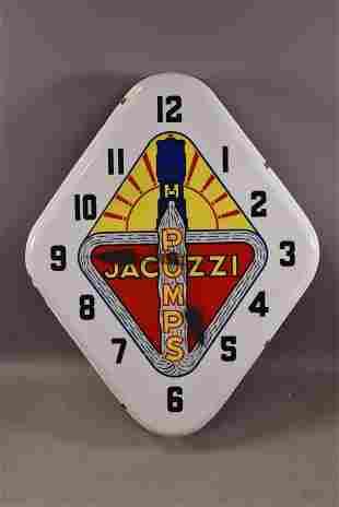 JACUZZI PUMPS PLASTIC CLOCK