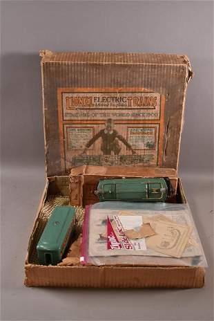 VINTAGE LIONEL TRAIN SET IN ORIGINAL BOX