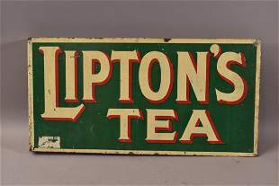 DST LIPTONS TEA FLANGE SIGN