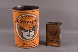 2 OILZUM CANS