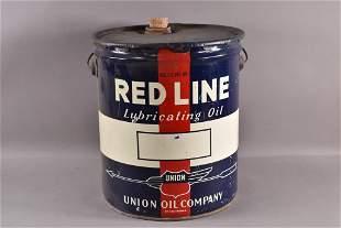 UNION OIL CO. RED LINE 5 GALLON OIL CAN