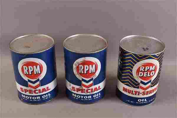 3 RPM 1 QUART OIL PAPER CANS