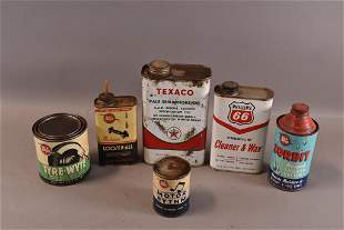 6 MISC. CANS