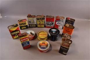 15 CAR POLISH & WAX CANS