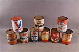 9 MISC 1 QUART CANS